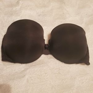 36c vs push up strapless bra